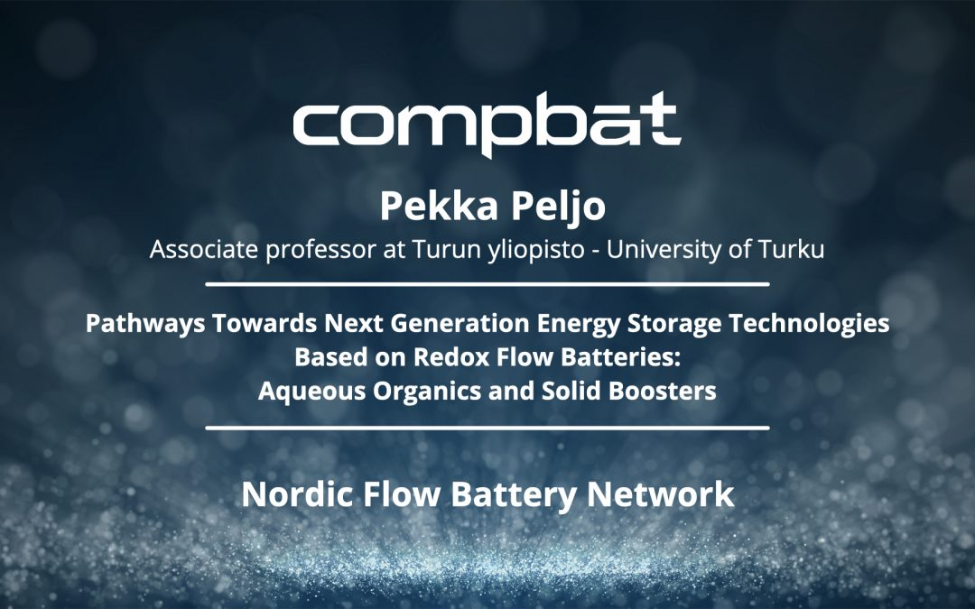 News su Nordic Flow Battery Network presentation