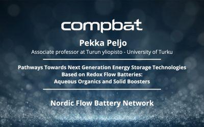 News su Nordic Flow Battery Network presentation